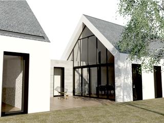 J e architectes architectes dans le morbihan erdeven for Architecte auray